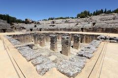 Römische Ruine Italica. Spanien lizenzfreies stockbild