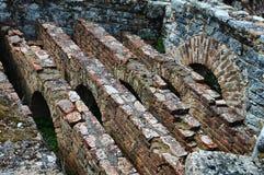 Römische Ruinen Stockfoto