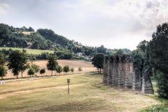 Römische Ruinen in Acqui Terme, Italien Stockfotografie