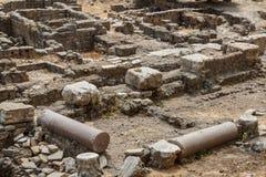 Römische Ruinen in der Mitte von Beirut Lizenzfreie Stockbilder