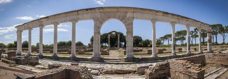 Römische Ruinen in Minturno, Italien Lizenzfreie Stockfotografie