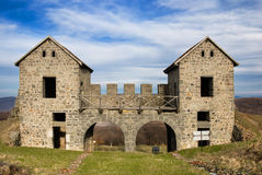 Römische Ruinen Porolissum Lizenzfreies Stockbild