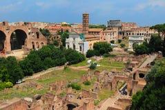 Römische Ruinen in Rom Stockbilder