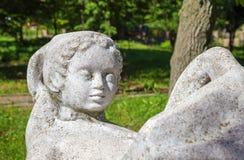 Römische Skulptur Stockbild