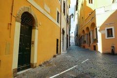 Römische Straße Stockfotos