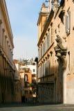 Römische Straße Stockfotografie