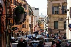 Römische Straße Stockbild