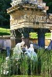 Römische Tempelruinen Stockfoto