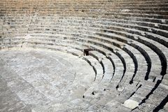 Römischer Amphitheatre Lizenzfreies Stockfoto