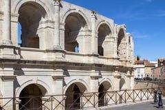 Römischer Amphitheatre in Arles, Frankreich lizenzfreie stockbilder