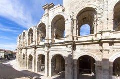 Römischer Amphitheatre in Arles, Frankreich lizenzfreie stockfotografie