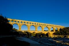 Römischer Aquädukt stockfoto