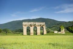 Römischer Aquädukt Lizenzfreies Stockfoto