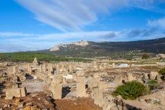 Römischer archäologischer Standortbereich Baelo Claudia Stockfotografie