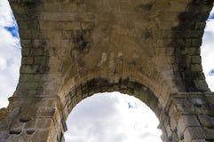Römischer Bogen von Caparra Lizenzfreie Stockfotografie