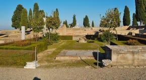 Römischer Garten stockfoto