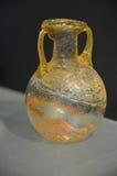 Römischer Glasvase lizenzfreies stockbild