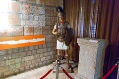 Römischer Krieger blind und eine alte Spalte Stockbild