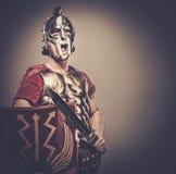 römischer Legionarysoldat Lizenzfreies Stockfoto