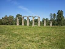 Römischer 's-Aquädukt Stockfoto