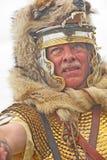 Römischer Soldat am Fort George Lizenzfreie Stockbilder