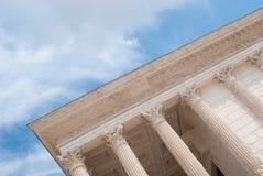 Römischer Tempel Stockfotografie