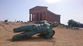 Römischer Tempel Stockbilder