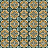 Römischer traditioneller Mosaikwanddekor Stockfoto