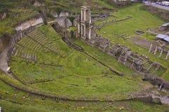 Römisches Amphitheater Lizenzfreie Stockfotografie