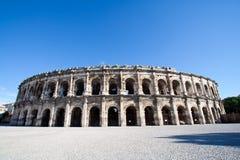 Römisches Amphitheater Stockfotos