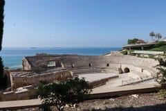 Römisches Amphitheater. Tarragona Lizenzfreies Stockfoto