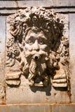 Römisches Flachrelief. Bakhus Stockfoto