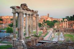 Römisches Forum Lizenzfreie Stockfotografie