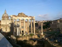 Römisches Forum Lizenzfreies Stockbild