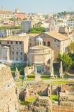 Römisches Forum stockfoto
