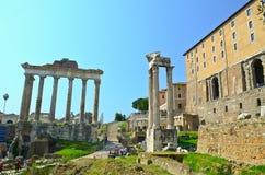 Römisches Forum lizenzfreies stockfoto