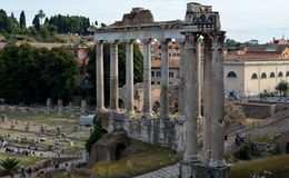 Römisches Forum Stockbild