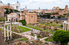 Römisches Forum stockbilder