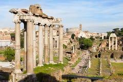 Römisches Forum in Rom Stockbilder