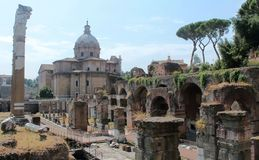 Römisches Forum, Rom Lizenzfreies Stockfoto