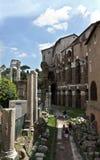 Römisches Forum in Rom Lizenzfreies Stockfoto