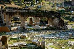 Römisches Forum in Rom, Italien Lizenzfreie Stockfotografie