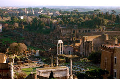 Römisches Forum in Rom, Italien Stockfotografie