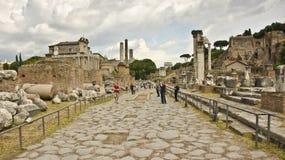 Römisches Forum, Rom, Italien Lizenzfreies Stockfoto