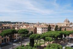 Römisches Forum und palatino in Rom in Lazio in Italien Lizenzfreie Stockfotografie