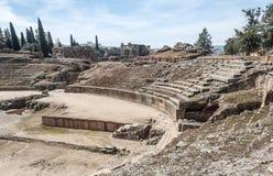 Römisches Forum von Emerita Augusta lizenzfreies stockbild