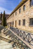 Römisches Haus in der historischen Mitte von Astorga lizenzfreie stockfotografie
