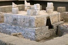Römisches königliches Grab lizenzfreies stockfoto