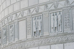 Römisches Monument in Adamclisi Stockfotografie