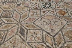 Römisches Mosaik in Italica-Farbe Stockfoto